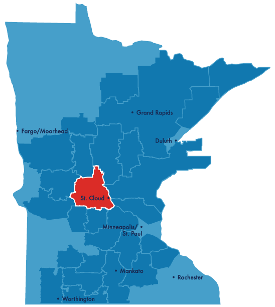 stearns service territory map