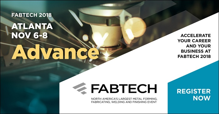 FABTECH 2018 Photo - Click Here to See