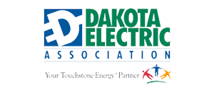 dakota electric logo
