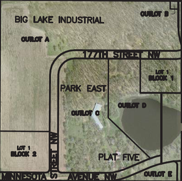 Main Photo For Big Lake Industrial Park East Plat Five