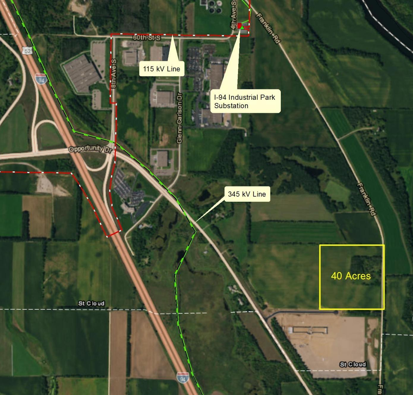 Main Photo For County Road 75/I-94 Business Park Data Center Site (St. Cloud, MN)
