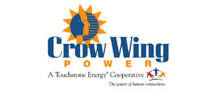crow wing power logo
